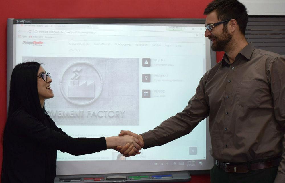 DesignStudio nastavlja saradnju sa projektom Movement Factory