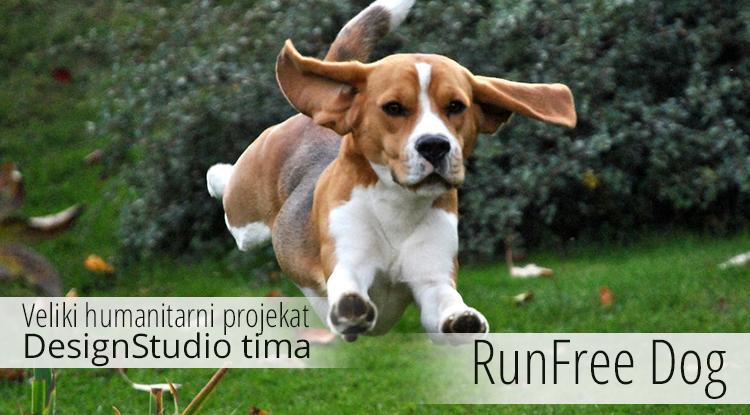 DesignStudio radi humanitarni projekat: RunFree Dog