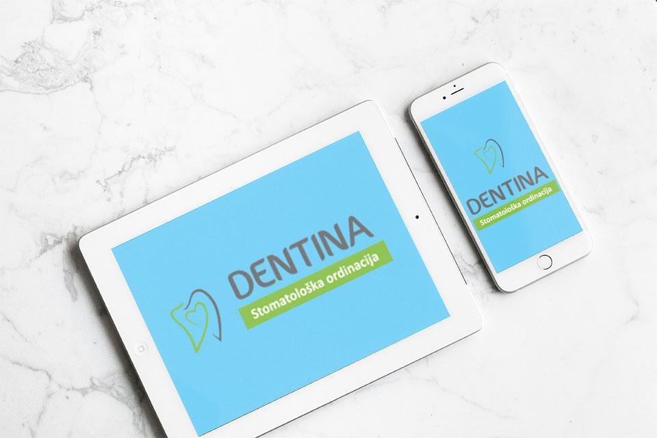 Izrada logoa za stomatološku kliniku Dentina
