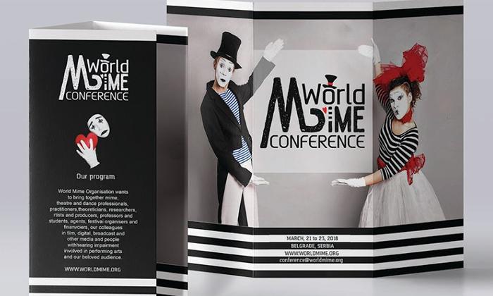 Izabran zvanični logo za World Mime Conference