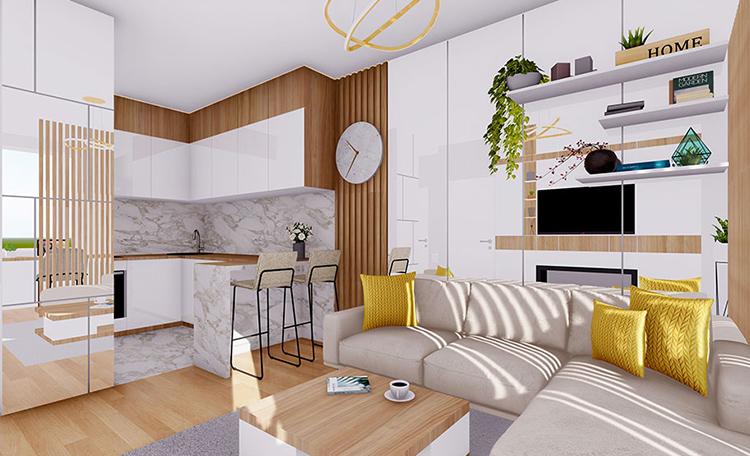 Objava pobednika za projekat kreiranja dizajna enterijera stana od 36 m2